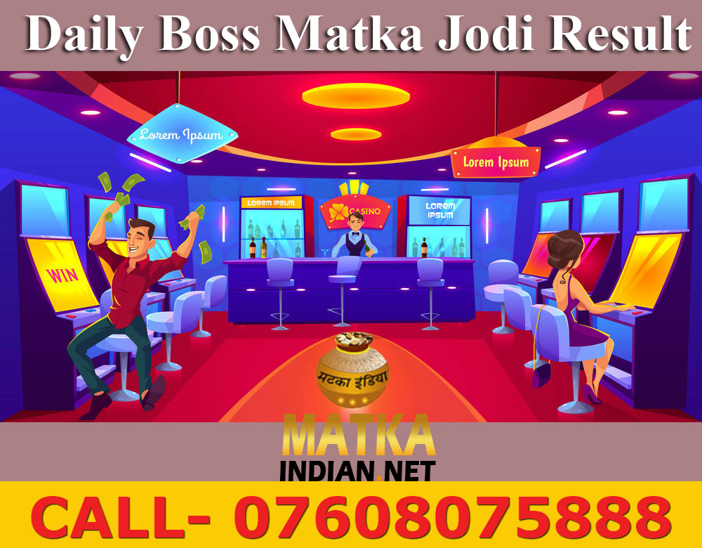 Boss Matka Result Providing Site