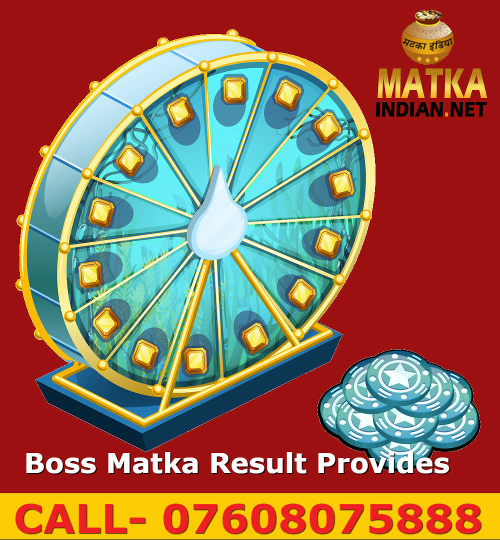Online Boss Matka Result Provides India